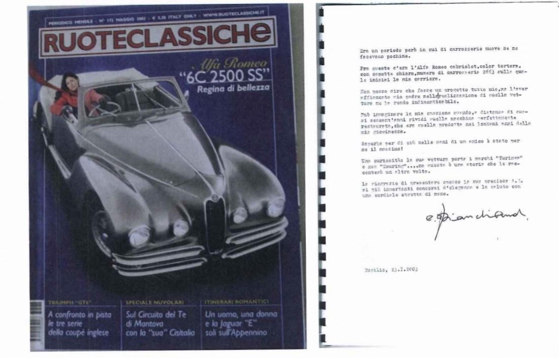 Alfa Romeo 2500 6c SS