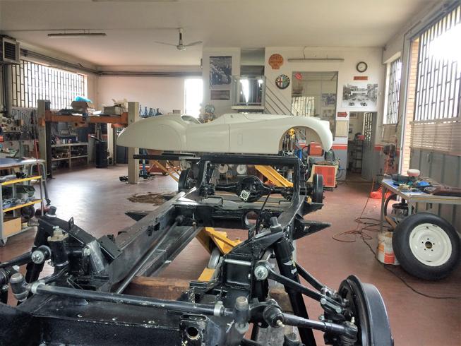 Restoration Jaguar