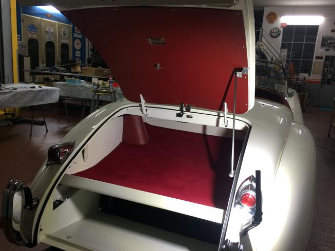 Trunk restoration Jaguar