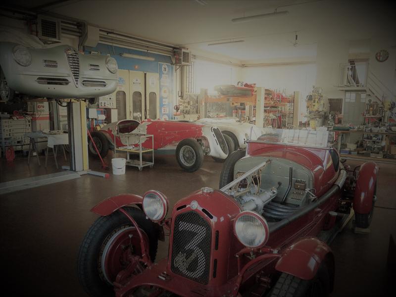 Alfa 8c Monza