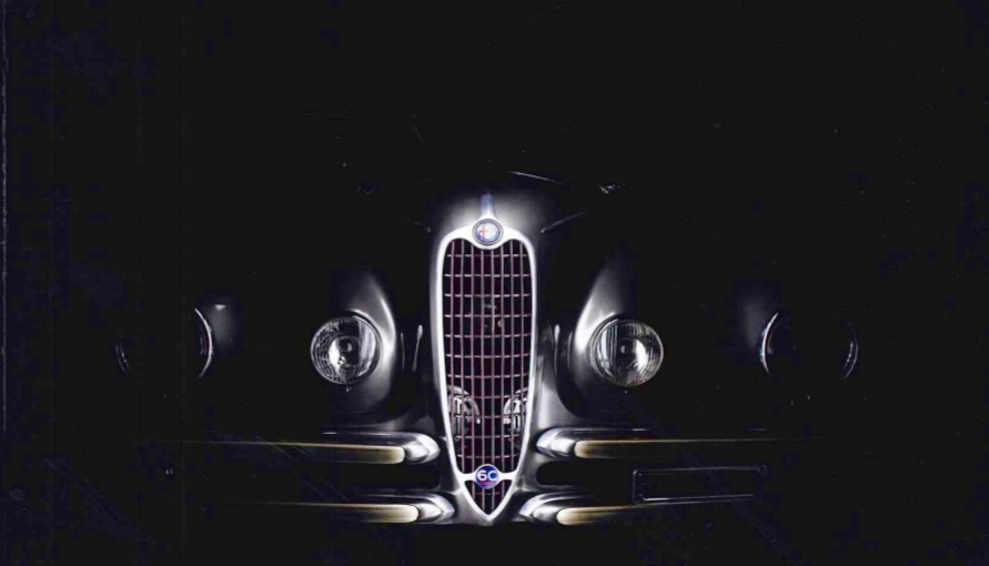 Alfa Romeo 2500 6c anno 1939 - Restauro