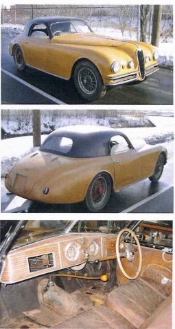 Alfa Romeo 2500 6c anno 1939