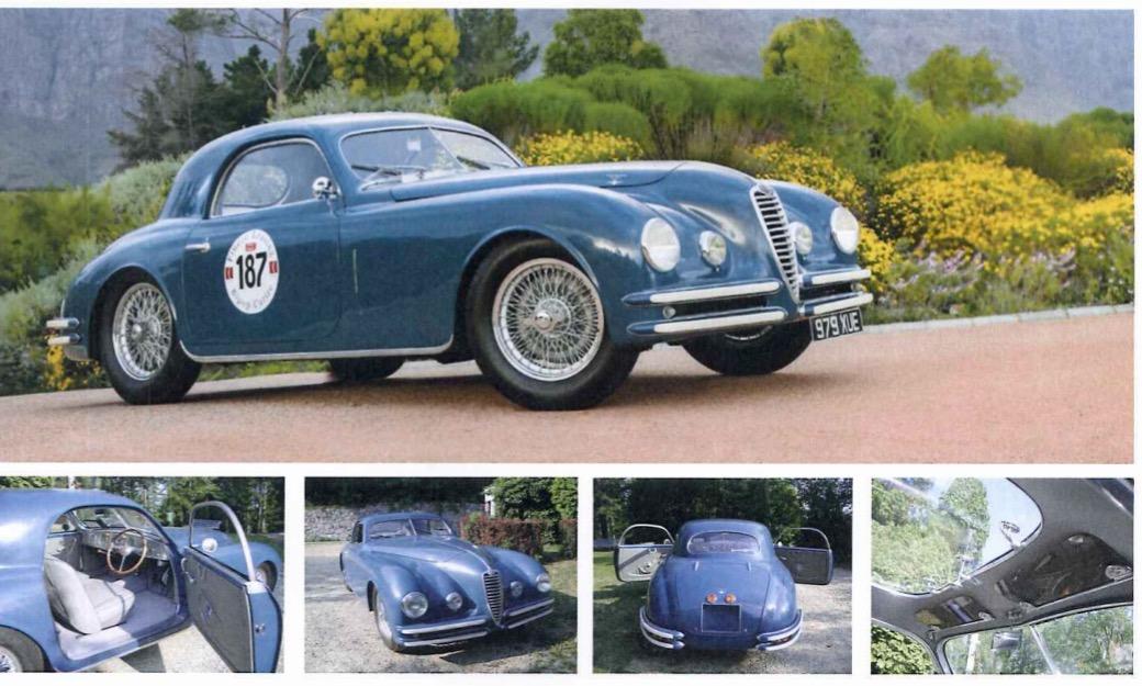 Alfa Romeo 2500 6c Touring SS Berlinetta airlux